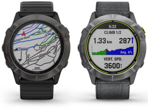 Garmin Fenix 6 and Enduro watches compared