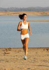 Courir a jeun