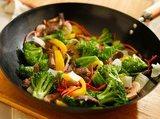 Magn�sium wok cuisson