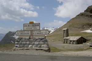 photo du col de l'Iseran ouvert