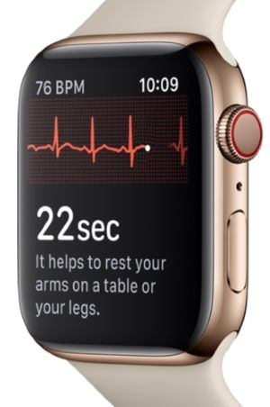 Apple Watch 4 et ECG