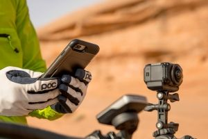 VIRB camera on bike