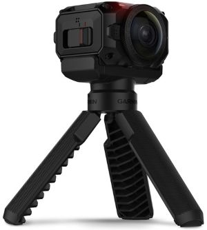 VIRB 360 camera on tripod