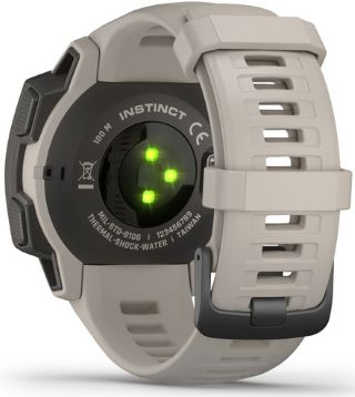 optical heart rate sensor on the wrist