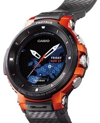 Casio F30 watch orange