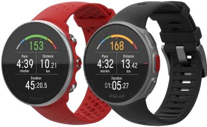 Polar Vantage M vs V: more running oriented, less sophisticated and less expensive, the Vantage M benefits from Polar innovations: sophisticated optical cardio, Trainign Load Pro function