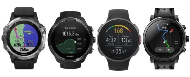 Garmin Fenix 5 Plus Vs Suunto 9 Vs Polar Vantage V Vs Amazfit