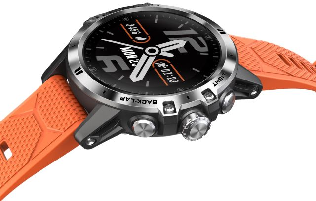 montre Coros Vertix orange joli design