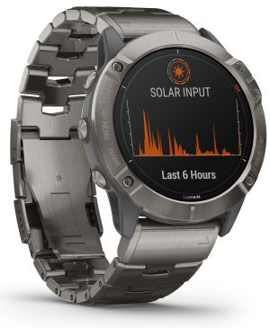 Fenix 6 solar sports watch