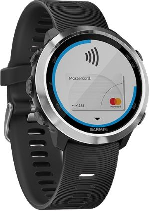 montre affichant paiement sans contact Garmin Pay