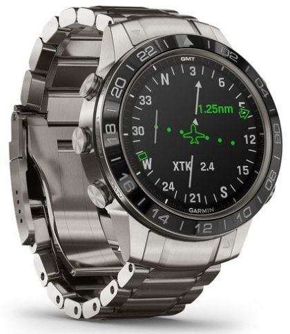 Garmin luxury watch MARQ Aviator