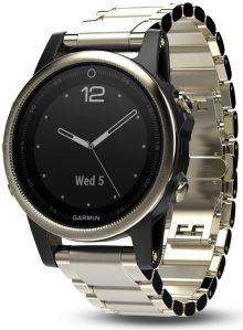 Garmin Fenix 5S watch with extendable strap
