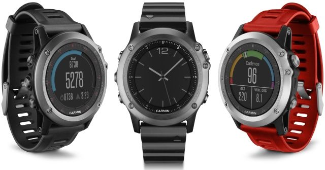 3 montre GPS Fenix 3 design