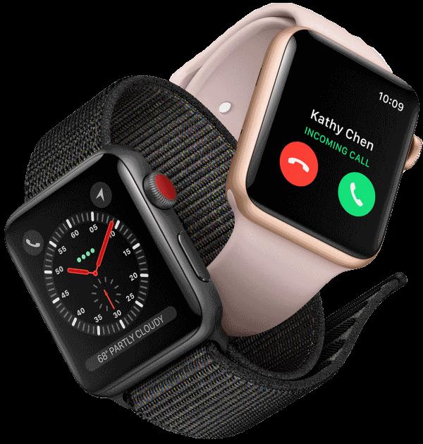 ef6f8b76f4ef81 Apple Watch 3   test et avis. Une montre téléphone 4G.