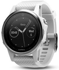 Garmin Fenix 5 white GPS watch