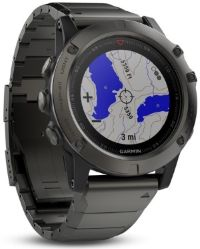 GPS watch with topo map