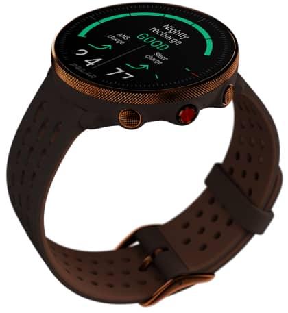 Montre Vantage M2 bracelet marron-cuivre