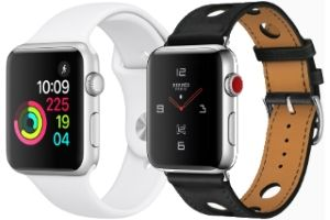 montres Apple Watch Series 1, 2, 3 comparées