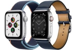 Apple Watch SE et 6 comparées