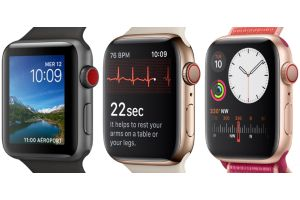 Apple Watch 3, 4 et 5 comparées
