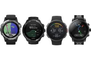 Fenix 5 Plus, Suunto 9, Vantage V and Stratos watches compared