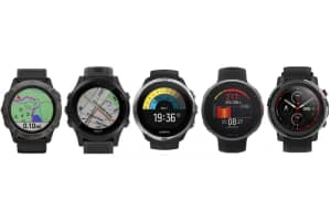 Fenix 6, Forerunner 945, Suunto 9 Baro, Vantage V2 and Amazfit Stratos 3 Watches Compared