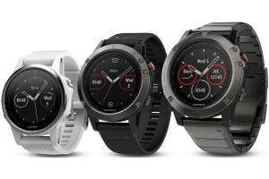 Garmin Fenix 5S, 5 and 5X watches