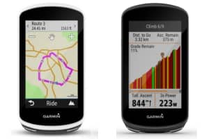 Comparaison Garmin Edge 1030 versus 1030 Plus
