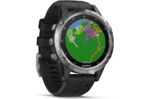 Garmin Fenix 5 Plus GPS watch with cartography