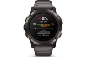 montre cardio GPS connectee Grmin Fenix 5 Plus