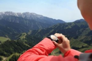hiking GPS watch