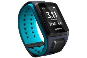 Blue GPS cardio watch